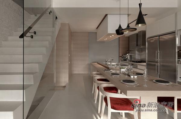 中式 loft 餐厅图片来自用户1907658205在110平实景极奢loft 精致生活的完美体验74的分享