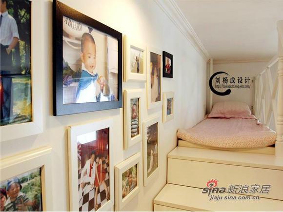 地中海 二居 卧室图片来自用户2756243717在4万翻新65平米二手房地中海风格全攻略37的分享