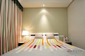 现代 三居 卧室 文艺青年图片来自装修微日记在【高清】9万打造125平时尚清幽现代家28的分享