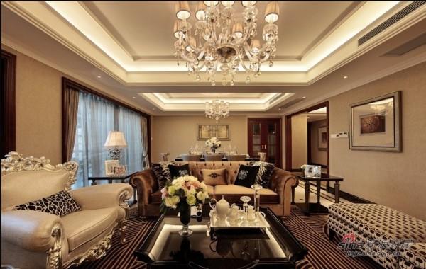 室内装修设计-林业厅单位房欧式六居室-客