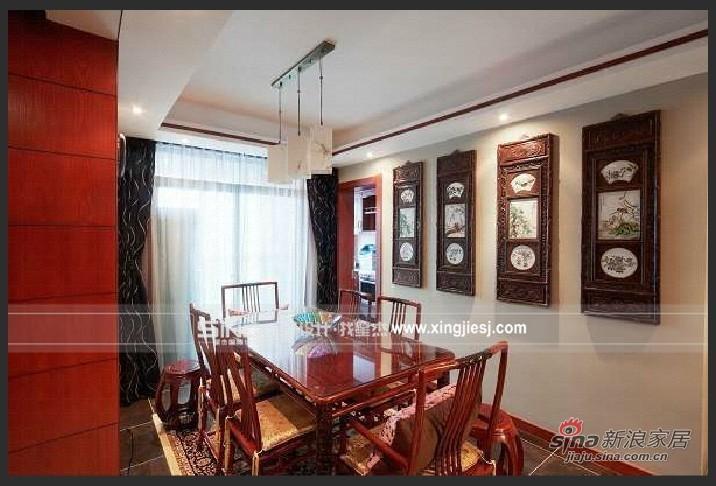 中式 四居 餐厅图片来自用户1907662981在中式混搭66的分享