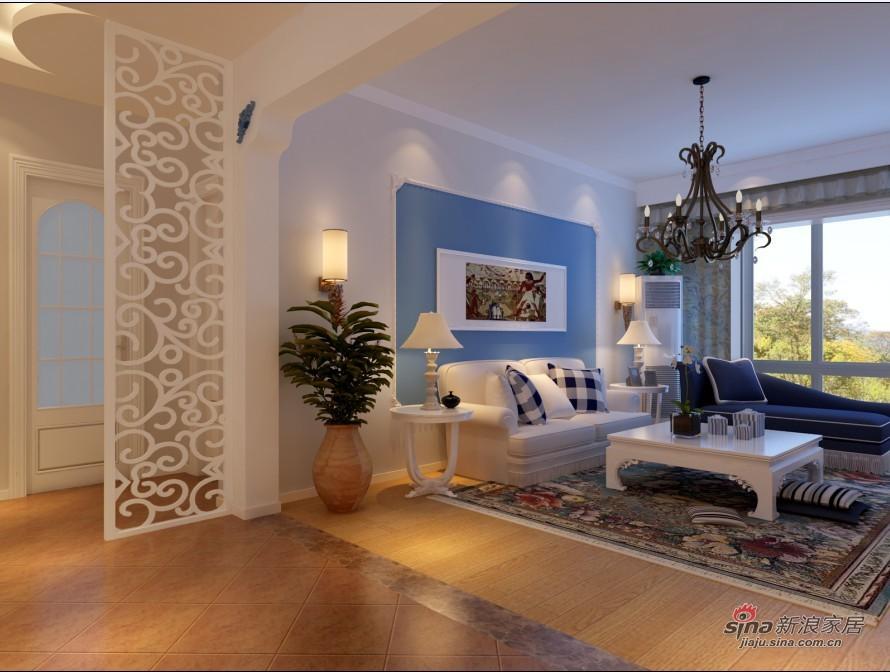 其他 三居 客厅图片来自用户2737948467在7万打造康营家园110平地中海3居87的分享