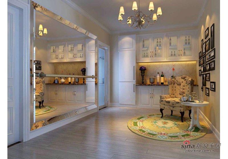 田园 二居 厨房图片来自用户2737791853在88平米保利茉莉公馆田园风格装修69的分享