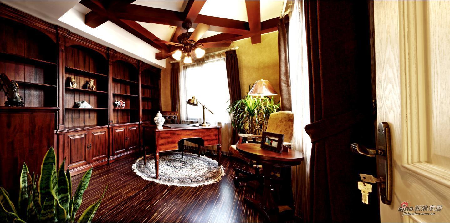 欧式 别墅 书房图片来自用户2745758987在【多图】龙湖400平米托斯卡纳风情70的分享