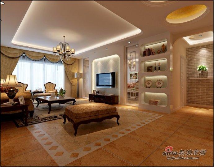 欧式 三居 客厅图片来自用户2746889121在9万打造150平米新古典主义之美89的分享