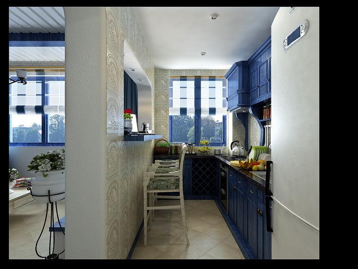 地中海 其他 厨房图片来自用户2757320995在蓝白地中海美家59的分享