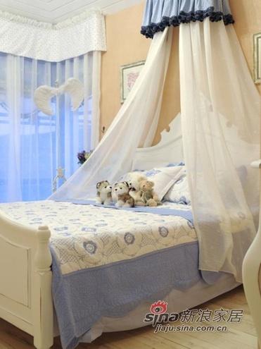 地中海 三居 卧室 公主房图片来自用户2757320995在温暖阳光房14的分享