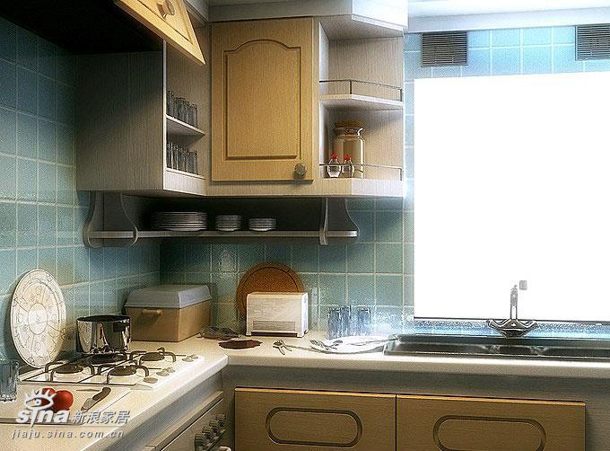 简约 一居 厨房图片来自用户2738829145在杨馥蓉样板间16的分享