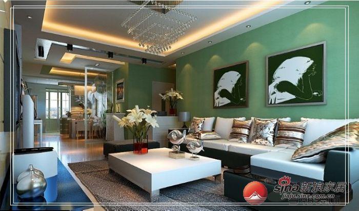 混搭 三居 客厅图片来自用户1907689327在打造126平米小清新混搭风91的分享