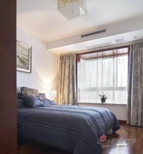 中式 三居 卧室 公主房图片来自用户1907658205在【高清】9万营造107平新中式儒雅居29的分享