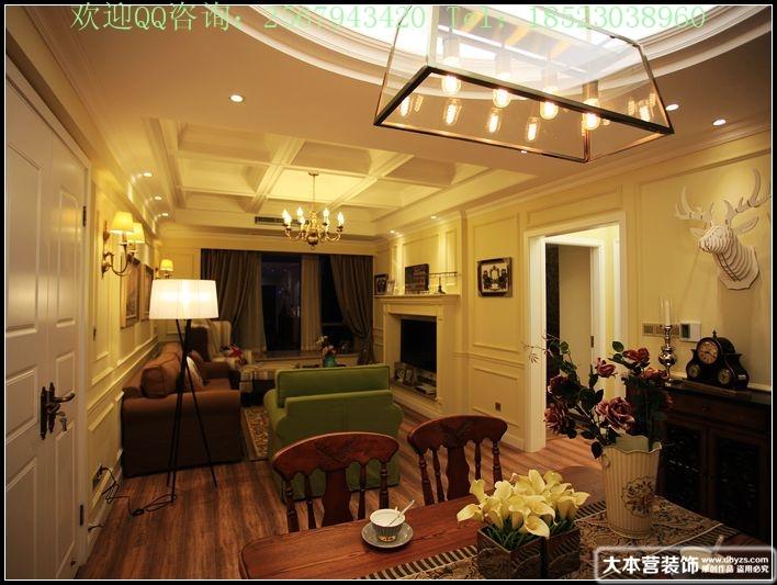 美式 三居 客厅图片来自用户1907685403在【多图】日月光90平米现代美式风格39的分享