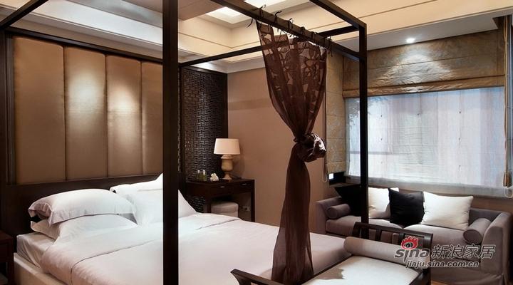 中式 三居 卧室图片来自用户1907658205在简约舒适三居室15的分享