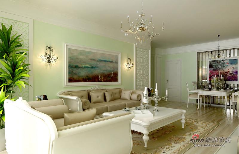 田园 三居 客厅图片来自用户2737791853在混搭田园风48的分享