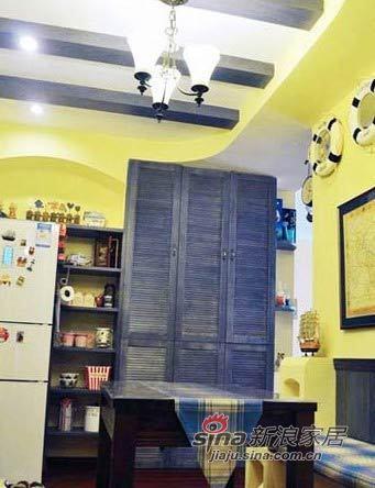 地中海 一居 餐厅图片来自用户2756243717在文艺夫妻的70平浪漫地中海56的分享