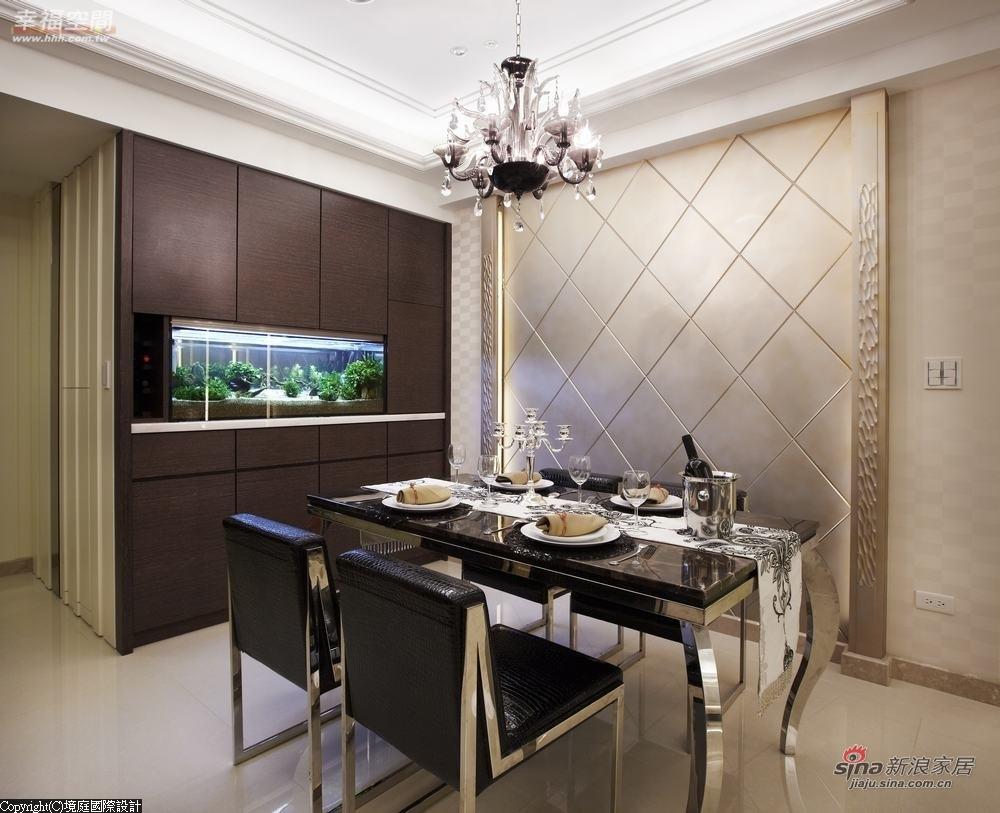 新古典 三居 餐厅图片来自幸福空间在【高清】165平诠释新古典居家对称线条13的分享