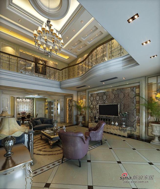 欧式 别墅 客厅图片来自用户2746869241在龙发装饰-佳地园-欧式80的分享