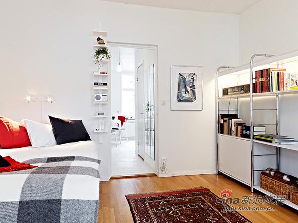 简约 一居 卧室图片来自用户2739081033在阳光女孩4万装扮31平单身公寓47的分享