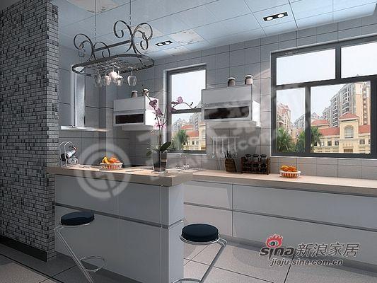 简约 二居 厨房图片来自阳光力天装饰在大气典雅型完美布置方案62的分享
