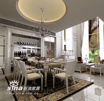 欧式 别墅 餐厅图片来自用户2772856065在保利垄上33的分享