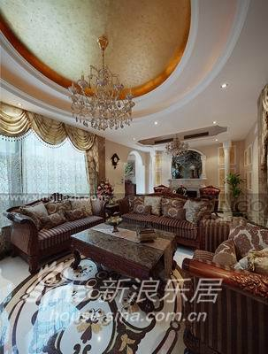 欧式 别墅 客厅图片来自用户2757317061在白金果岭29的分享