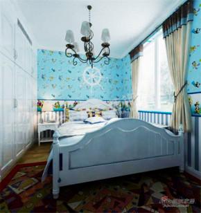 现代 二居 儿童房 公主房图片来自阳光力天装饰在两室两厅现代简约美家93的分享