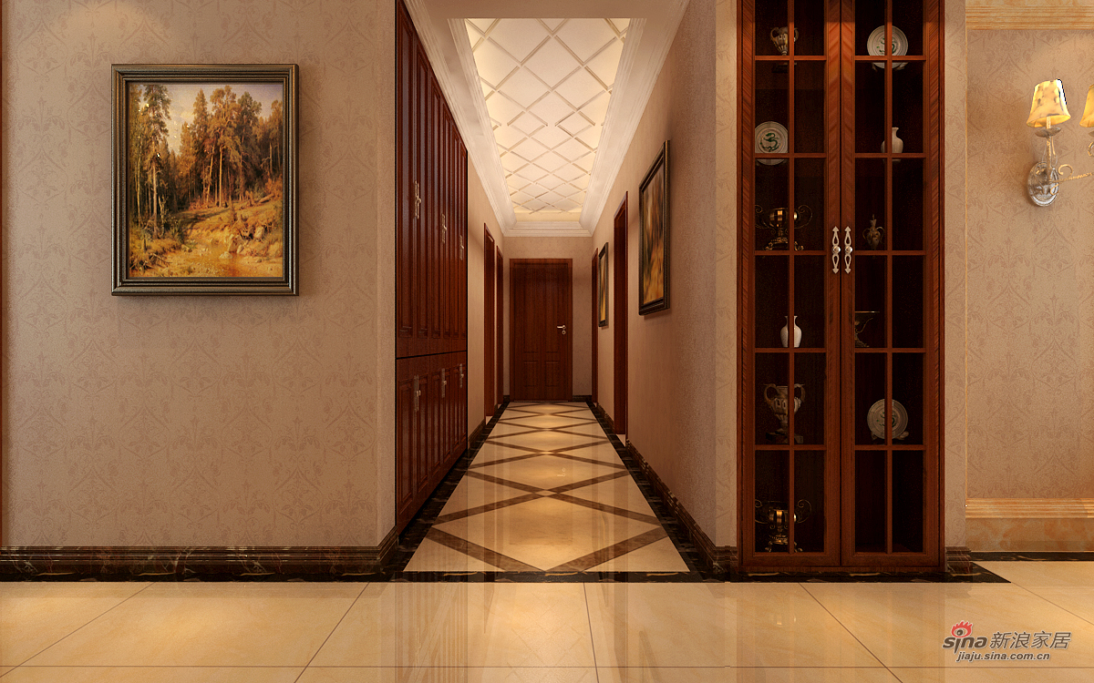 欧式 四居 其他图片来自用户2746869241在欧式风格漂亮四居室47的分享