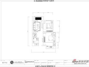 中铁国际城90㎡-2室2厅1卫-现代简约55