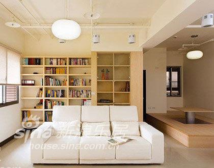 简约 二居 客厅图片来自用户2558728947在80平两房极简环保乐活屋75的分享