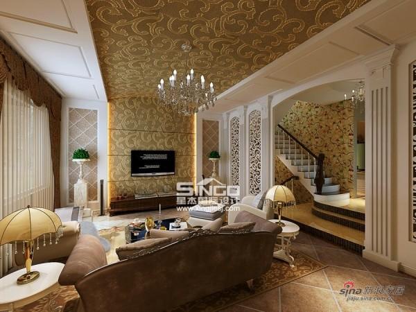 180㎡ 欧式风格联排别墅 星杰国际设计
