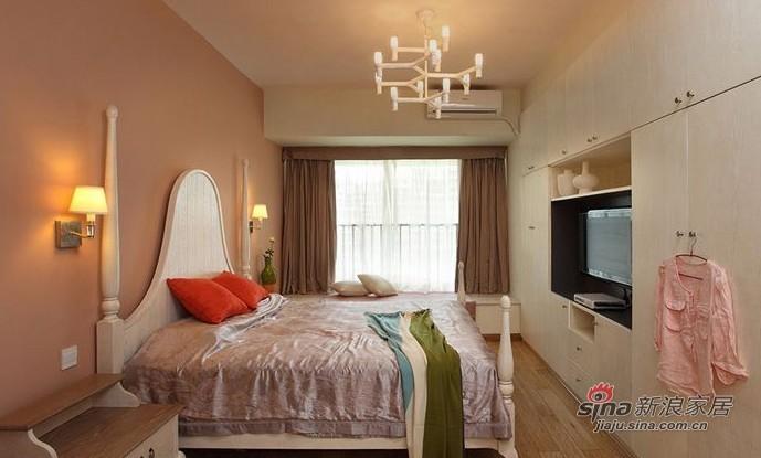 混搭 三居 卧室图片来自用户1907691673在准夫妻晒90平混搭时尚婚房72的分享