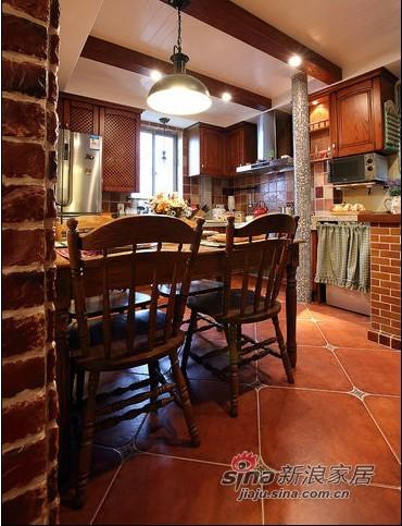 美式 一居 厨房图片来自用户1907685403在留美海归69平美式风情小户20的分享