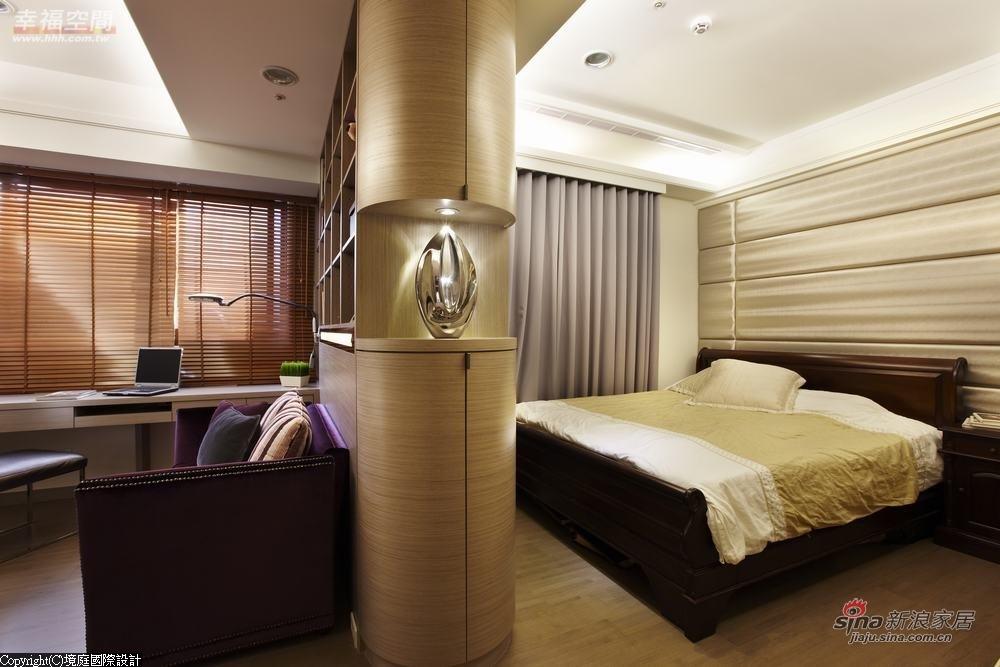 新古典 三居 卧室图片来自幸福空间在【高清】165平诠释新古典居家对称线条13的分享