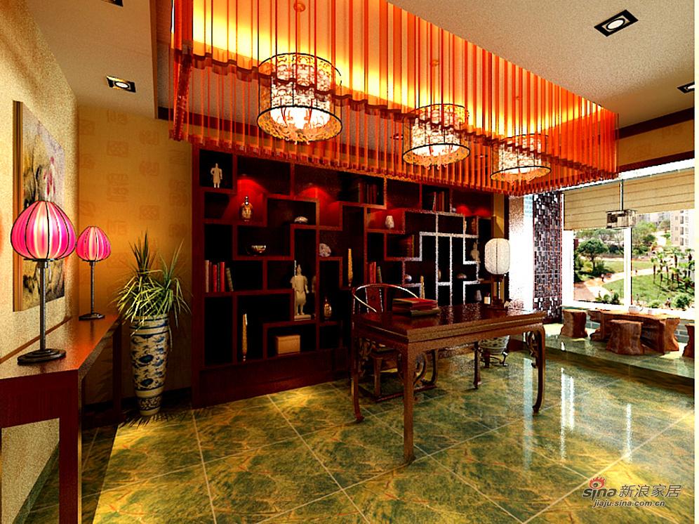 中式 三居 客厅图片来自用户1907696363在合理利用三居室空间53的分享