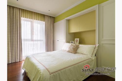 欧式 其他 卧室图片来自用户2757317061在156平缤纷色彩优雅英式古典居49的分享