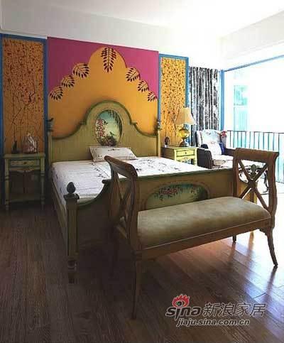 欧式 其他 卧室图片来自用户2557013183在带入户花园180平地中海自然田园风豪宅89的分享