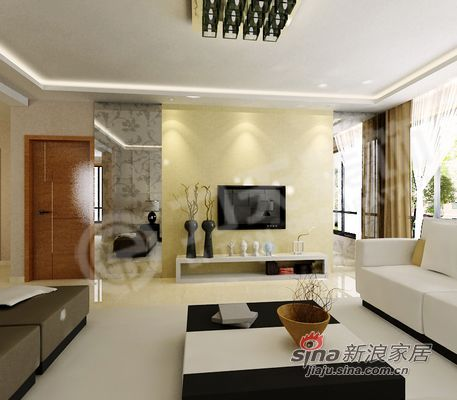 简约 一居 客厅图片来自阳光力天装饰在犀地中的一片净土64的分享