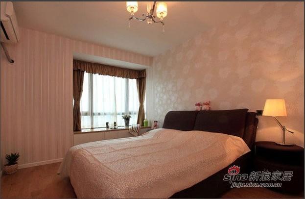简约 二居 卧室图片来自用户2557979841在5万4铸造120平2居现代简约风52的分享