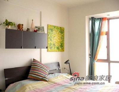 简约 一居 卧室图片来自用户2557010253在小户型大变身91的分享