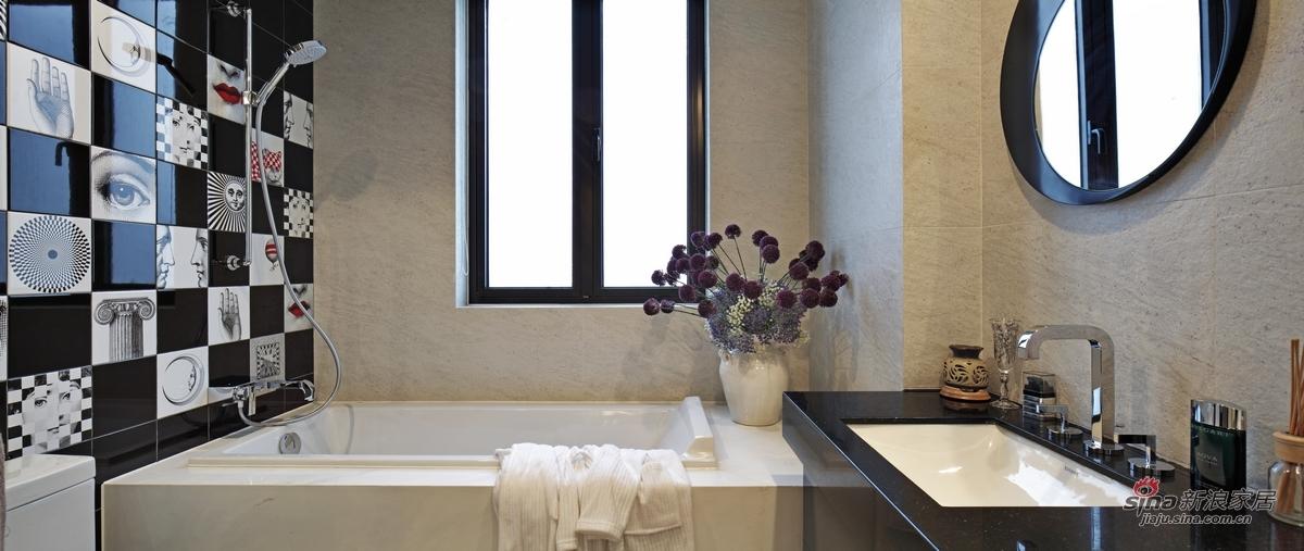 简约 三居 卫生间图片来自用户2739153147在【高清】115平米三居室设计最有范儿68的分享