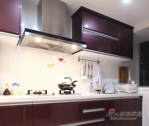 简约 三居 厨房图片来自用户2737759857在时尚潮流98平演绎二居室美家74的分享