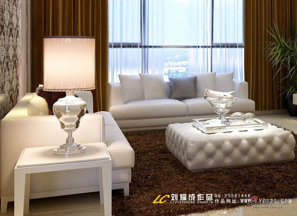 欧式 三居 客厅图片来自用户2745758987在【高清】中年夫妇花12万装修时尚美居61的分享