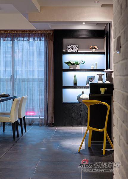 简约 三居 餐厅图片来自装修微日记在【高清】9万打造138平简约大气时尚之家80的分享