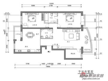 8.9w全面打造艺术十足的160平典雅欧式家居49