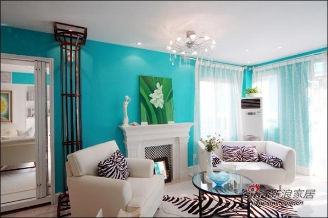 简约 二居 客厅图片来自用户2557010253在3.7万蓝色魅力清新2居家53的分享