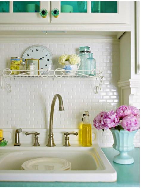 小清新的厨房,这个收纳方法很简单!