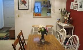 简约 复式 餐厅 白领 小资 屌丝 舒适 温馨 实用图片来自用户2738845145在小白领12万重装110平简约新家59的分享