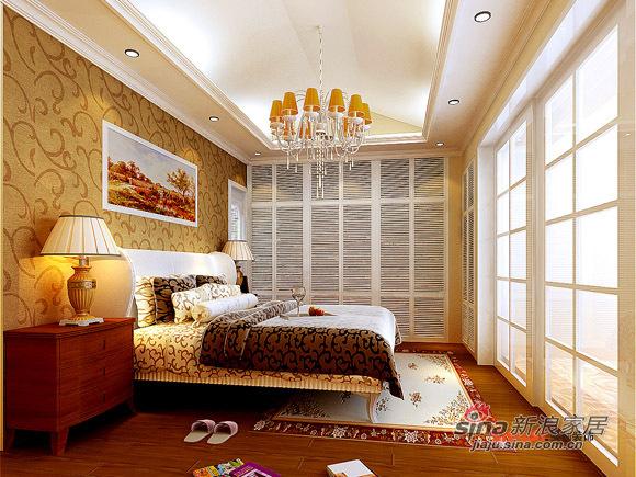 欧式 三居 卧室图片来自用户2772856065在欧式+田园混搭爱家48的分享
