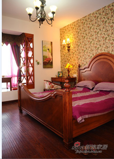 其他 二居 卧室图片来自用户2737948467在10万元100平东南亚风格两居(多图)43的分享