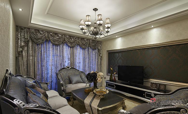 新古典 三居 客厅图片来自用户1907701233在【高清】134平新古典精致大气3居26的分享