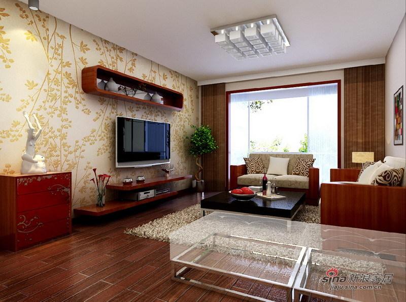 混搭 二居 客厅图片来自用户1907691673在5.8万打造98平另类的简约现代风44的分享